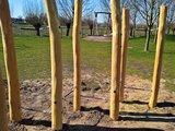 robinia hout palen kopen touwenparcour openbaar gebruik NEN-EN 1176