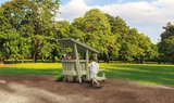 white rhino speeltoestel premium hout glijbaan