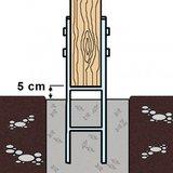 beton storten h anker grondanker