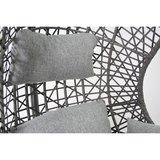 Hangstoel Mona relax Zwart zonder standaard (Grey Edition) _