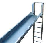 Losse Glijbaan RVS Professioneel met ladder voorzijde