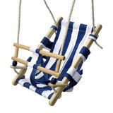 Babyzitje Beach Blauw/Wit