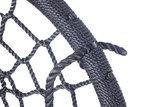 nest schommel 120 cm zwart