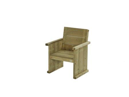 Houten banken of stoelen kopen de bruine schommels