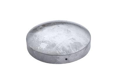 161 mm Paalornament Rond gegalvaniseerd staal