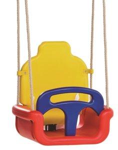 Babyzitje Groeimodel rood/geel/blauw - Foto 1