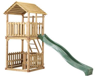 speeltoren action toren speelhuis geimpregneerd houten