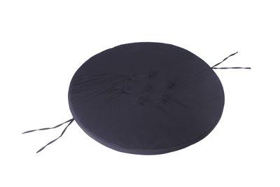Nestschommel Inlegkussen Zwart Ø80cm