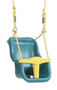 Babyzitje Luxe Premium Turquoise-Geel