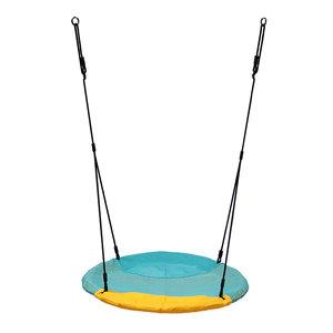 Nestschommel Turquoise/Geel Winkoh