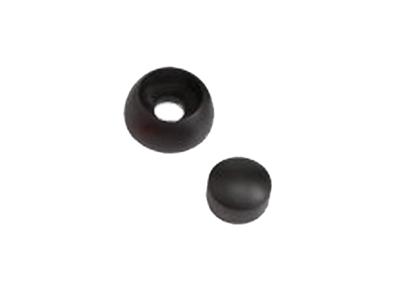 Afdekdop voor bouten en moeren zwart