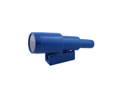 Telescoop Kunststof Blauw schuifbaar