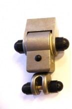 Schommelhaak RVS Met Naaldlager (110 mm)