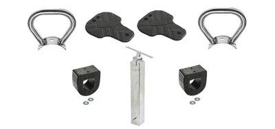 Toebehoren set zelf wipwap wip maken accessoires onderdelen op voet rondhout