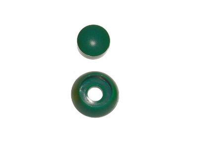 Afdekdop voor bouten en moeren Groen voor een rond oppervlakte M8-12