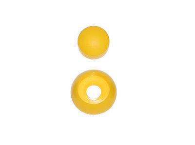 Afdekdop geel voor bout bouten en moer moeren
